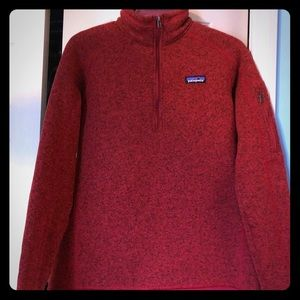 Patagonia Zip Up Pullover size Large